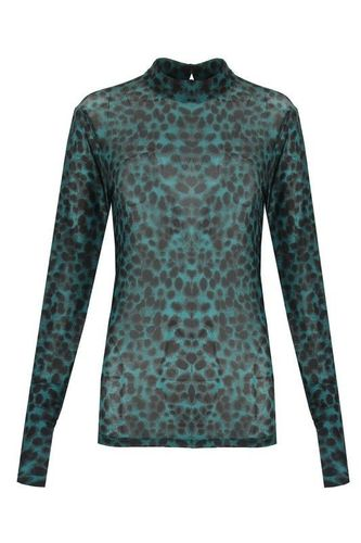 Top Leopard Green M